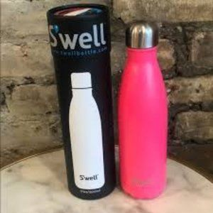 NEW S'well Insulated Steel Water Bottle 17 OZ PINK
